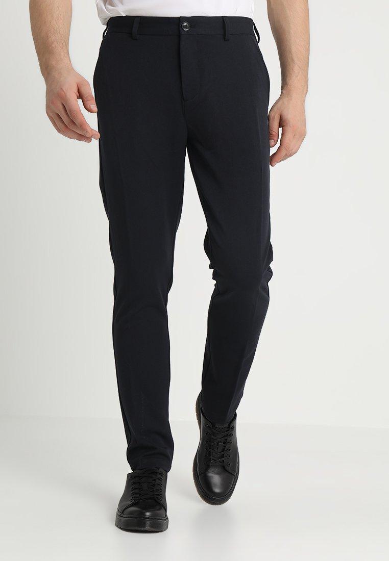 Samsøe Samsøe - FRANKIE PANTS - Oblekové kalhoty - dark sapphire