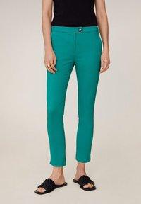 Mango - COFI6-N - Pantalon classique - groen - 0