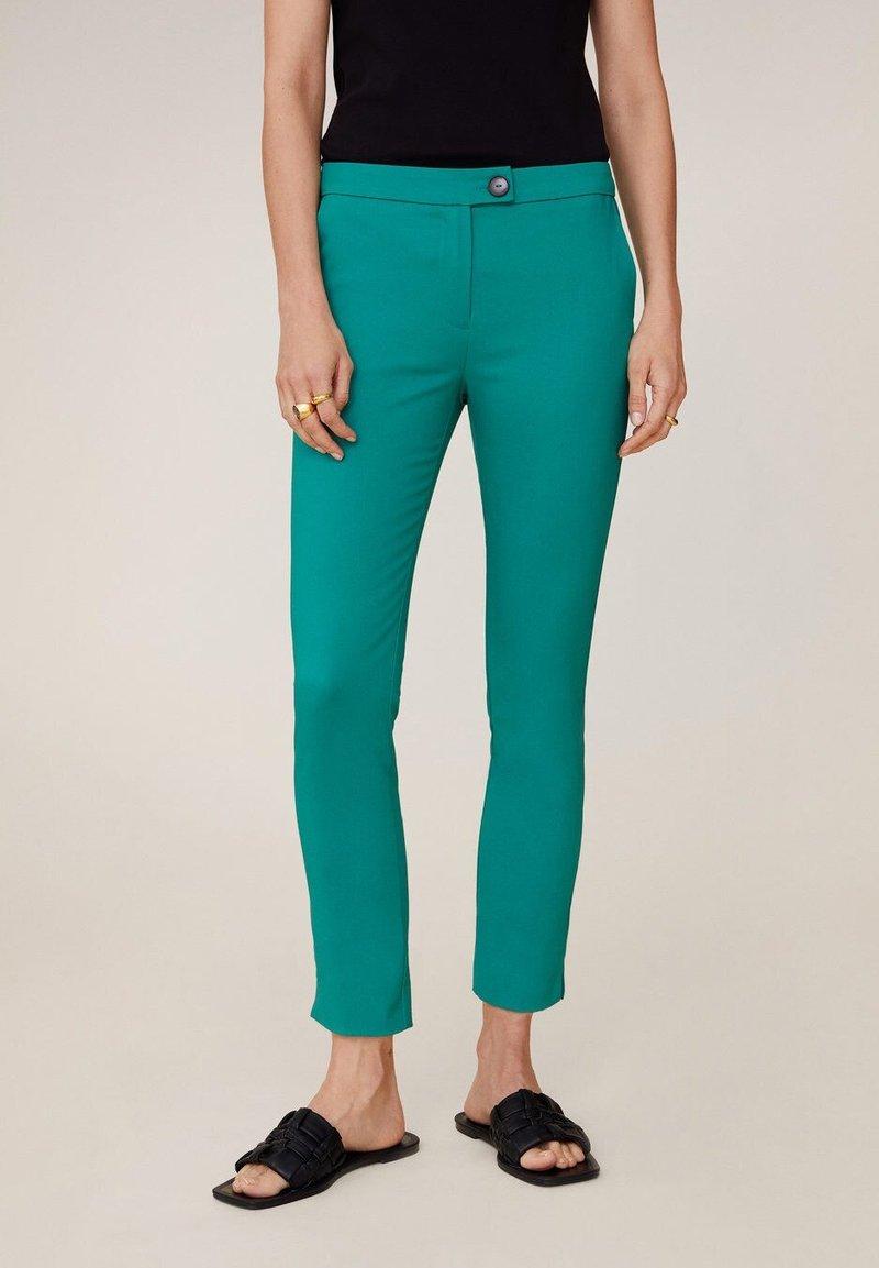 Mango - COFI6-N - Pantalon classique - groen