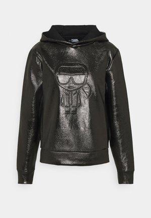 IKONIK HOODIE - Bluza z kapturem - black