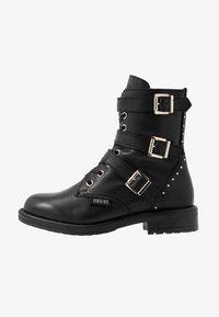 Vingino - MICHELE - Cowboy/biker ankle boot - black - 1