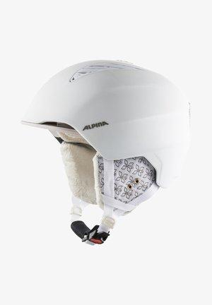 Helmet - white-prosecco matt