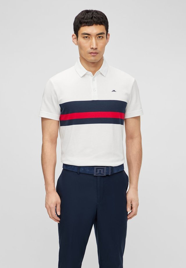 REG FIT - Polo shirt - white
