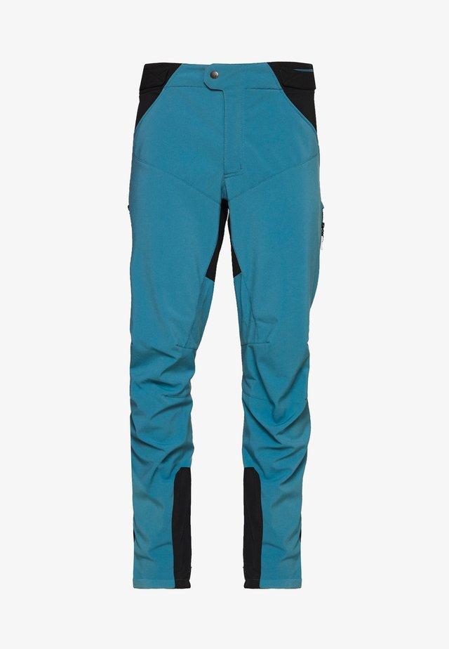 MENS QIMSA PANTS II - Ulkohousut - blue gray