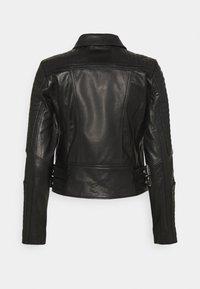 Vero Moda - VMALICIA  - Giacca di pelle - black - 7