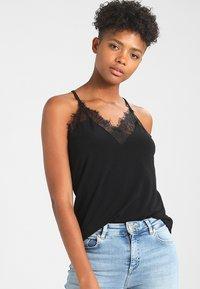 Vero Moda - VMMILLA  - Top - black beauty - 0