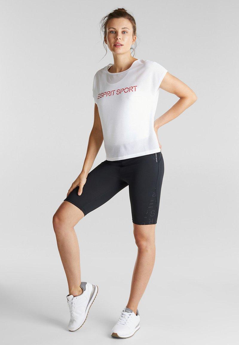 Esprit Sports - BIKER - Sports shorts - black