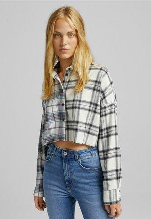 CROPPED-SCHNITT - Button-down blouse - multi coloured