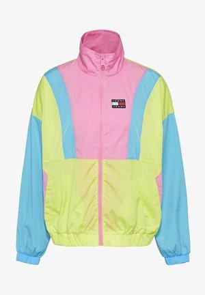 Summer jacket - faded lime / multi