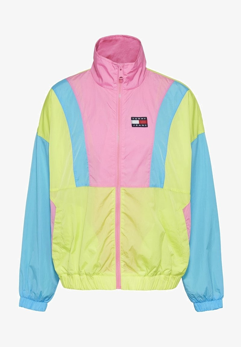 Tommy Jeans - Summer jacket - faded lime / multi