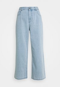 Afends - KENDALL - Široké džíny - stone blue - 4
