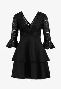 Sista Glam - NOVA - Vestido de cóctel - black - 5