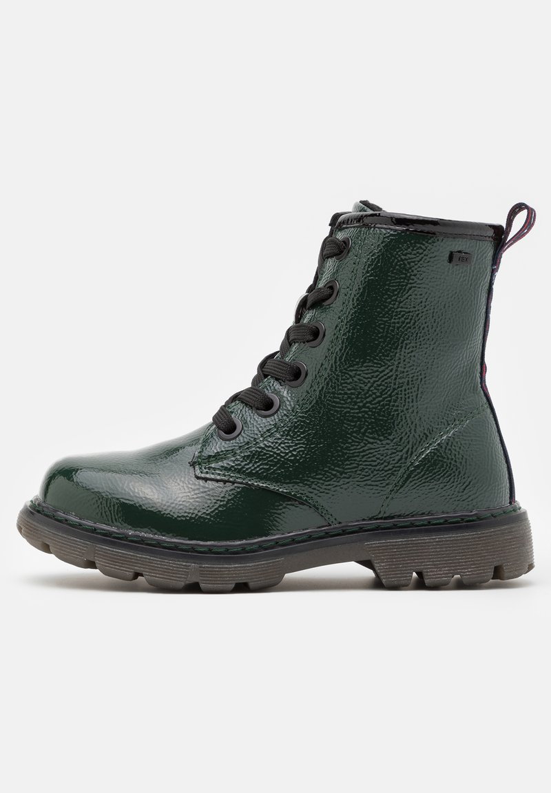 TOM TAILOR - Lace-up ankle boots - green