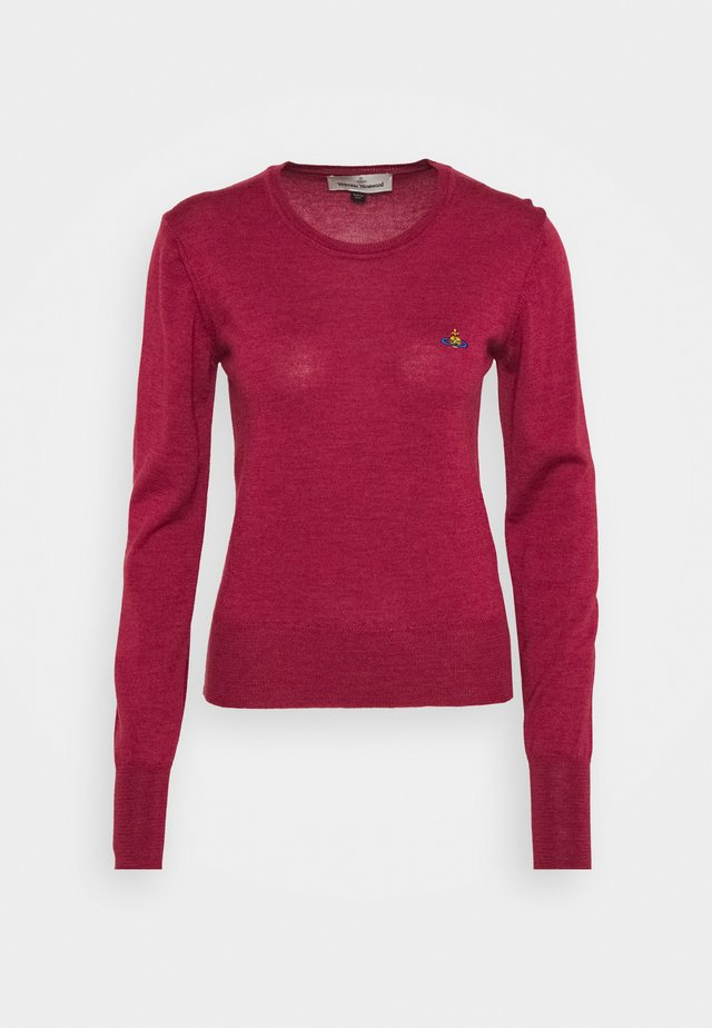 BEA JUMPER - Pullover - red