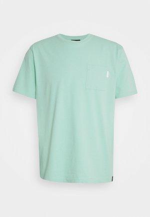 POCKET TEE - T-shirt - bas - faded mint