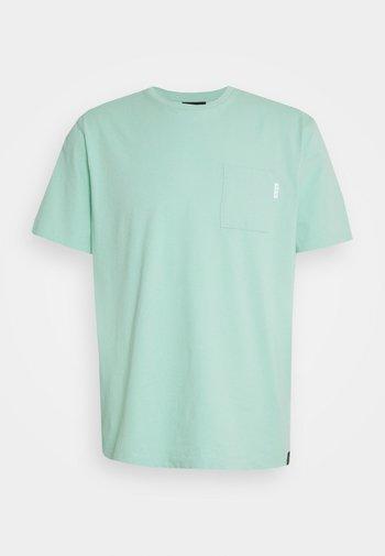 POCKET TEE - T-shirt basique - faded mint
