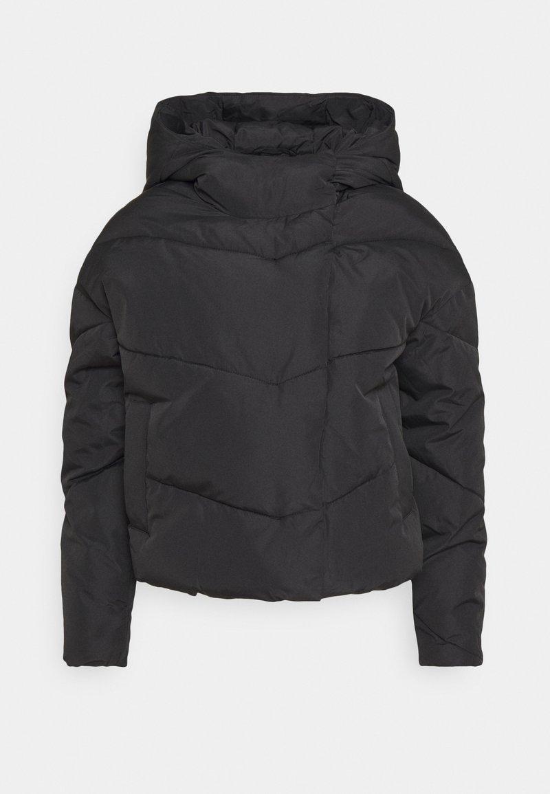 Noisy May Petite - NMWALLY JACKET - Winter jacket - black