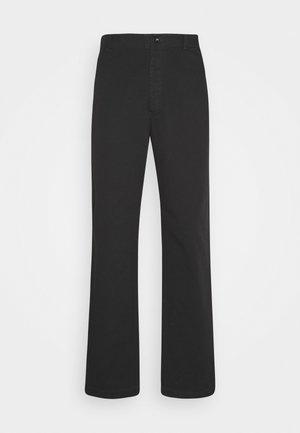 VAN TROUSER - Trousers - black