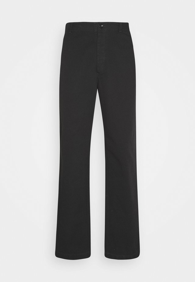 VAN TROUSER - Bukser - black