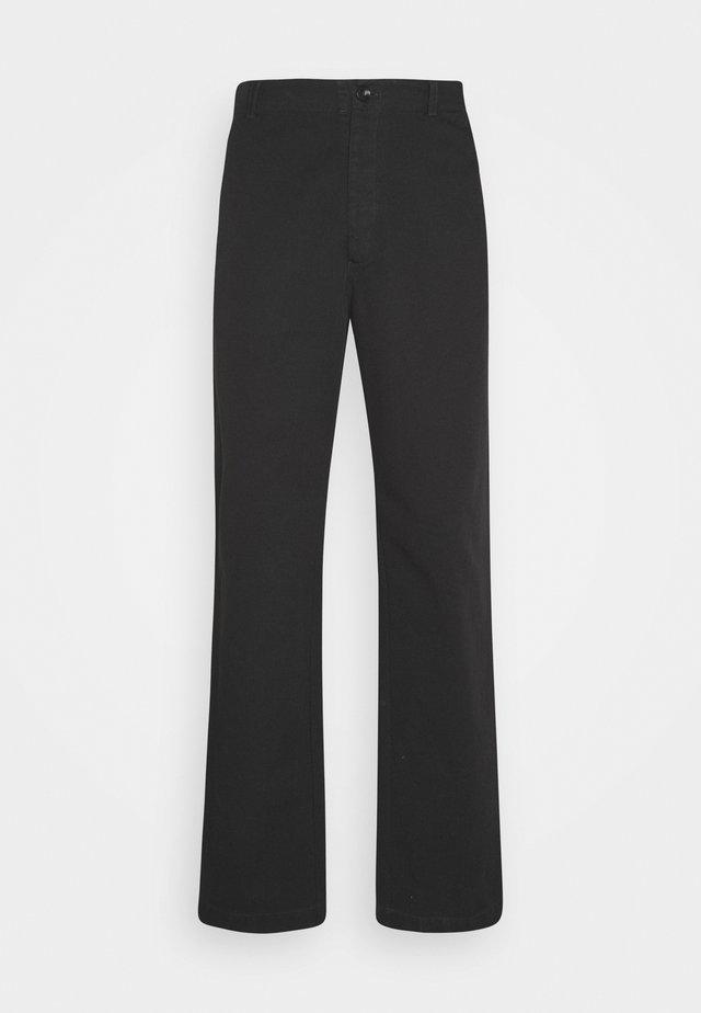 VAN TROUSER - Kalhoty - black