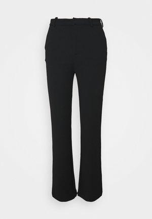 VMZAMIRA MR SLIM STRAIGHT PANT - Trousers - black
