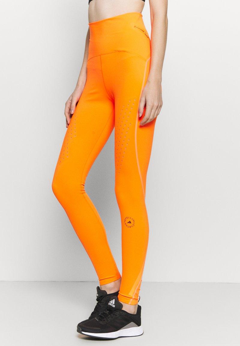 adidas by Stella McCartney - TRUEPURPOSE TIGHTS - Medias - signal orange