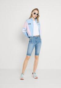 Ellesse - STEPHANIE CROP TRACK  - Summer jacket - light blue - 1