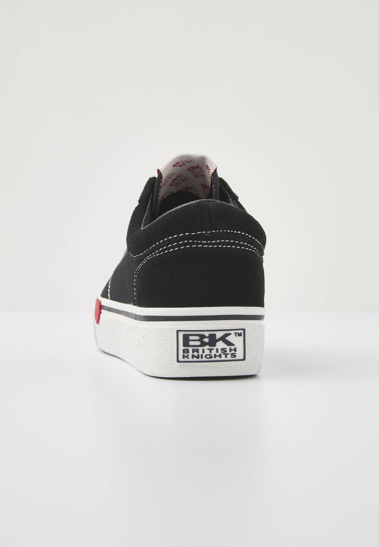British Knights MACK  Sneaker low black/red heart/schwarz