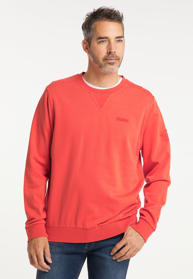 Sweatshirt - lava red