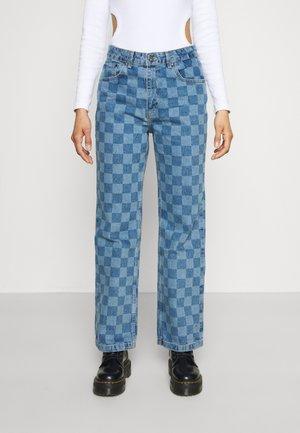 ROOK - Džíny Straight Fit - blue
