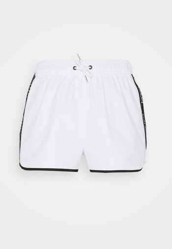 CORE LOGO TAPE - Shorts - classic white