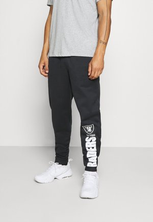 NFL LAS VEGAS RAIDERS TEAM LOCKUP THERMA PANT - Club wear - black