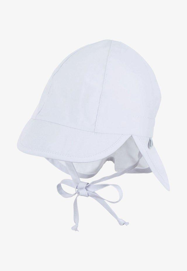 BABY SCHIRMMÜTZE MIT NACKENSCHUTZ - Hat - weiss