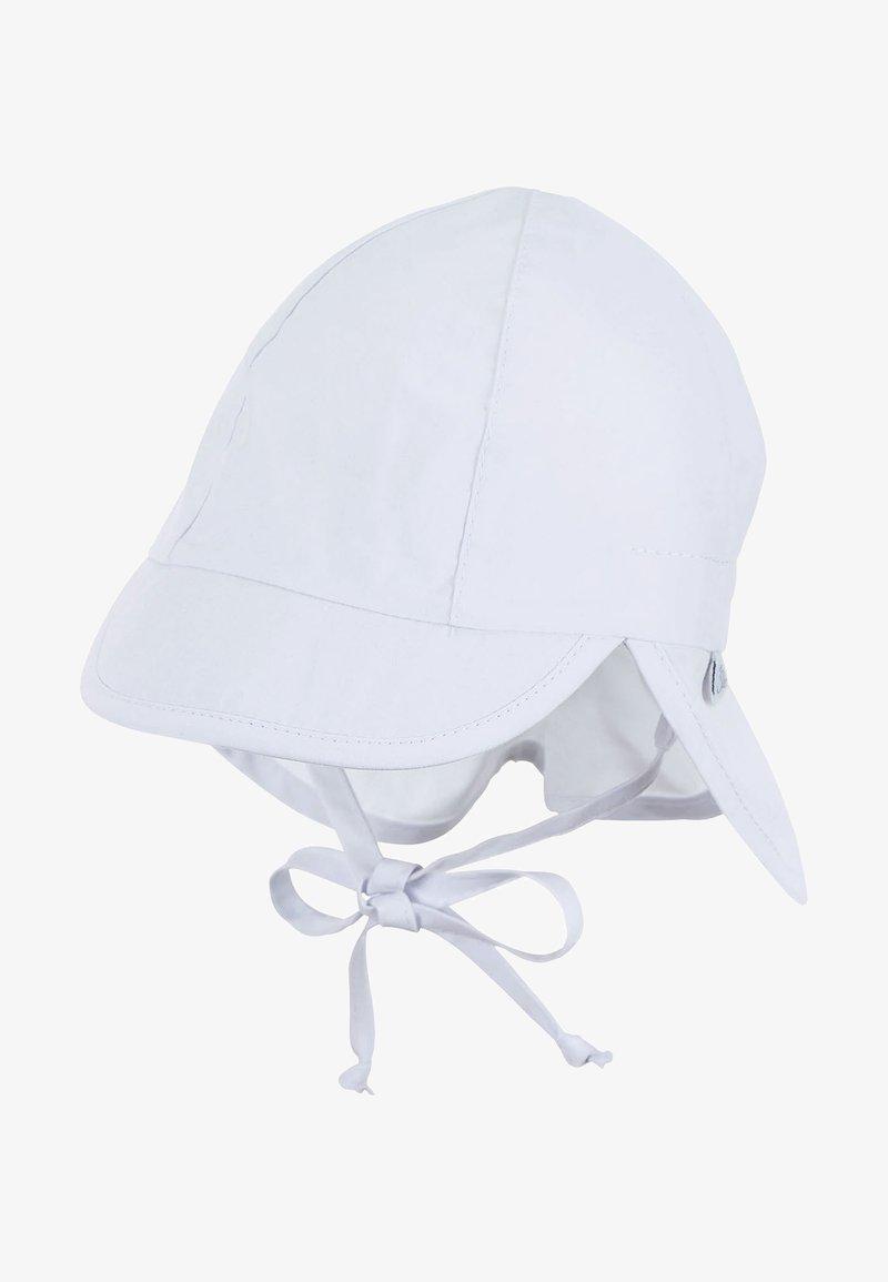 Sterntaler - BABY SCHIRMMÜTZE MIT NACKENSCHUTZ - Hat - weiss