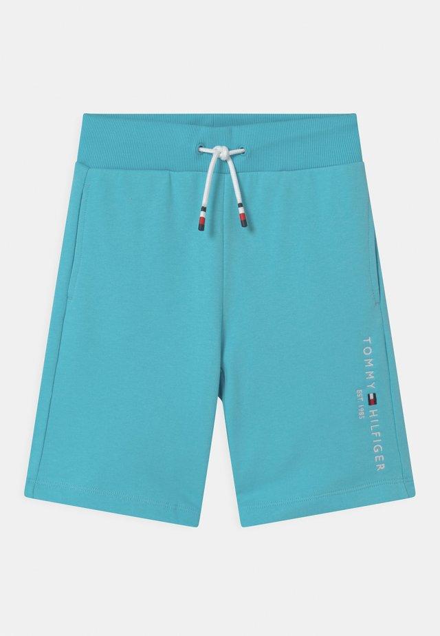 ESSENTIAL - Träningsbyxor - seashore blue