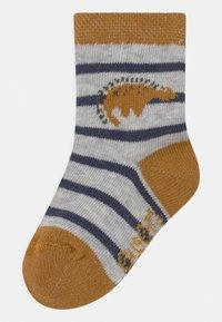 Ewers - DINO 4 PACK - Socks - white/blue - 1