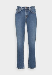 Nudie Jeans - STRAIGHT SALLY INDIGO AUTUMN - Straight leg jeans - indigo autumn - 3