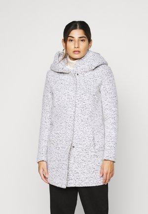 ONLNEWSEDONA COAT - Zimní kabát - cloud dancer melange