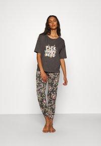 Marks & Spencer London - HAPPINESS - Pyjamas - charcoal - 1