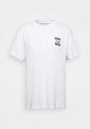 NONON - T-shirt print - white