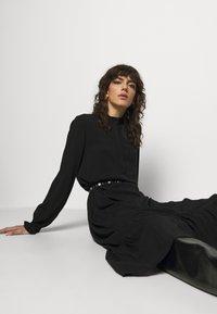 Bruuns Bazaar - NORI SICI DRESS - Shirt dress - black - 4