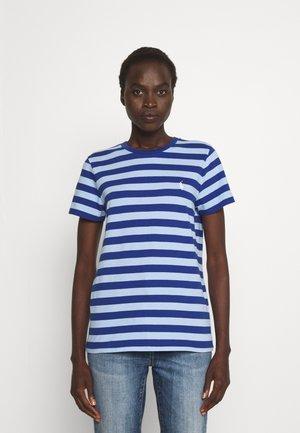 SHORT SLEEVE - Print T-shirt - beach royal/austin blue
