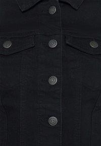 Vero Moda Petite - VMHOT SOYA JACKET - Denim jacket - black - 5