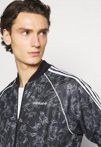 adidas Originals - GOOFY - Bomber bunda - black/white - 3