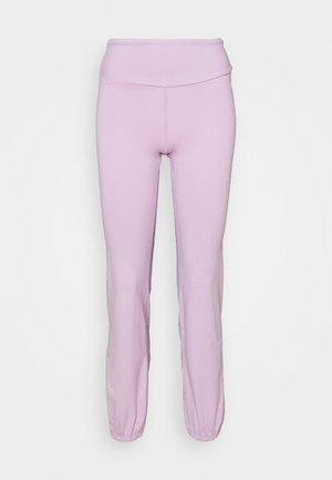 JOGGER PANTS - Verryttelyhousut - lilac