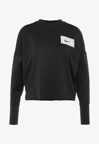 Nike Performance - MIDLAYER CREW REBEL - Funkční triko - black/white - 3