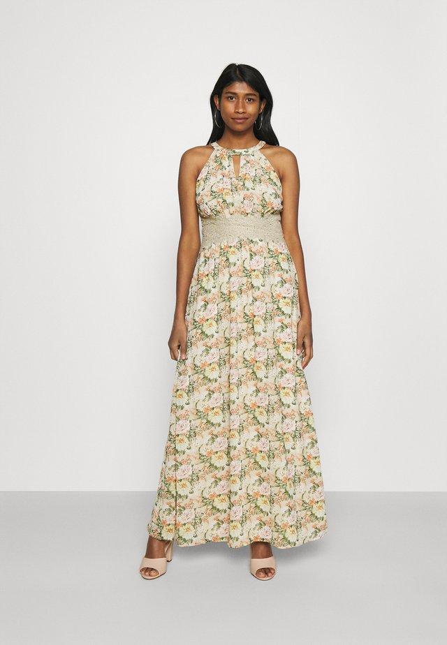 VIMILINA FLOWER DRESS - Abito da sera - sandshell