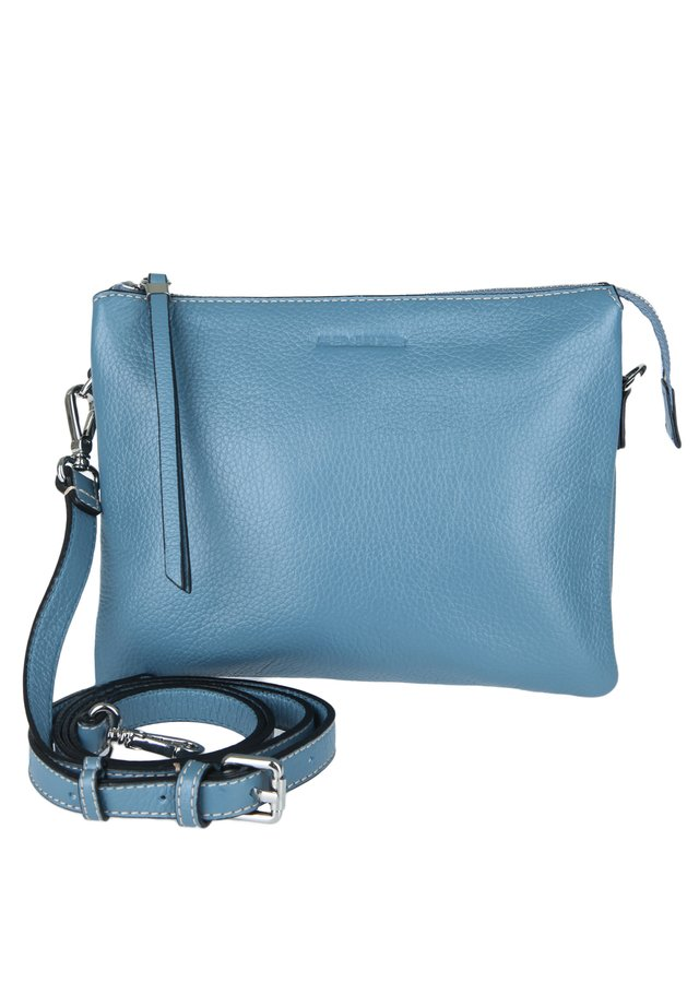 UMHÄNGETASCHE FERRARA - Across body bag - blue grey