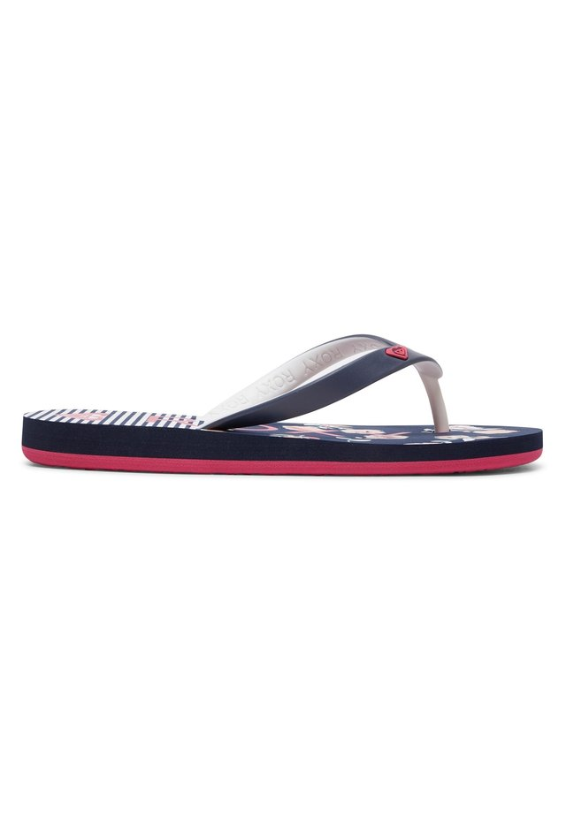 TAHITI - Pool shoes - blue/pink