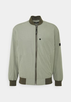 CLEAN  - Bomber bunda - greyish shadow olive